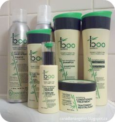 Boo Bamboo Hair Care Line Review & Giveaway (3 Winners) US/CAN