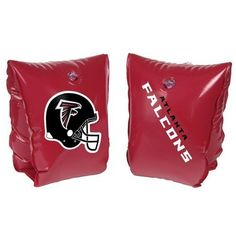 """NFL Ages 3-6 Years Inflatable Water Wing NFL Team: Atlanta Falcons by SC Sports. $6.95. Official Colors and Logo. Size: 5.5"""" x 7. Ages: 3-6. 03237 NFL Team: Atlanta Falcons Features: -NFL water wing.-Features the team helmet and name on the three-sided inner tube. Color/Finish: -Made with NFL's official colors and logo. Dimensions: -Dimensions: 8'' H x 8'' W x 8'' D.. Save 86% Off!"""