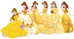 The Disney Princesses' looks throughout the years.