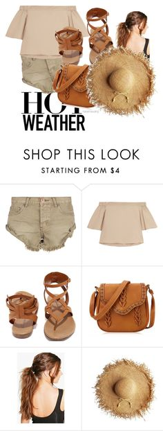 """""""untitled #7 : styled for hot weather #summer #summerbright #outfit2016 #summerstyle"""" by natashawang on Polyvore featuring One Teaspoon, TIBI, Breckelle's and Boohoo"""