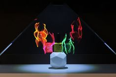 CND Shellac   Innovative 3D Holographic projection #Hopro 270 - 3D Holographic display #POS #Retaildisplay #Retail #visualmerchandising #RetailDesign #StoreDesign #Hologram #3dhologram #hologramprojector #CND #NailPolish Holographic Displays, 3d Hologram, Cnd Shellac, Retail Design, Pos, Visual Merchandising, Store Design, Lava Lamp, Table Lamp