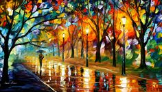 Recollection Of The Past — PALETTE KNIFE Oil Painting On Canvas By AfremovArtStudio, $239.00