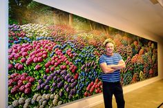 Karl Maughan, Hydrangeas, Wellington Botanical Gardens, Courtesy of the artist New Zealand Art, Nz Art, Creative Background, Kiwiana, Native Art, Botanical Gardens, Art Museum, Artist Studios, Artists