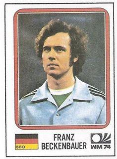 WM 1974 - Franz Beckenbauer - Panini Sticker by Thomas Duchnicki, via Flickr