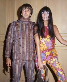 Sonny and Cher circa 1966