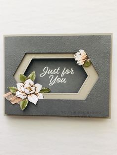 Stampin' Up! Homemade Greeting Cards, Hand Made Greeting Cards, Homemade Cards, Magnolia Stamps, Fancy Fold Cards, Beautiful Handmade Cards, Stamping Up Cards, Cards For Friends, Pretty Cards