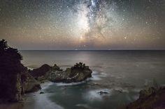 Galactic Coastline