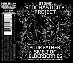 Stone Stochasticity Your Father Smelt of Elderberries