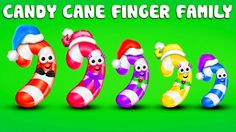 Candy Finger Family Song - Daddy Finger Song - Finger Family Collection