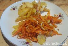 Rýchly obed - zemiaky s mrkvou a cibuľou