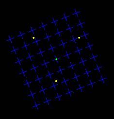 Optische Täuschung: Die gelben Punkte verschwinden wie von Geisterhand - DIE WELT