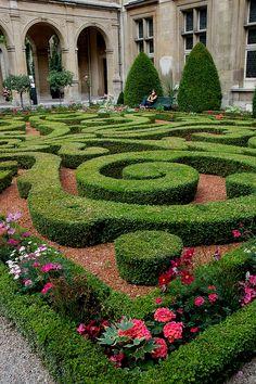 Hotel Carnavalet garden, PAris