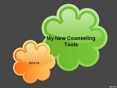 For High School Counselors: My New Counseling Tools for 2013-14