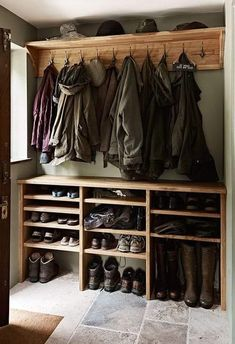 Oak Old and New Figura Bespoke Kitchens Property Renovation Boot Room Utility, Mudroom Laundry Room, Shoe Rack Mudroom, Home Organization, Organizing, Home Projects, Home Remodeling, House Plans, New Homes