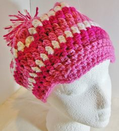 OOAK Crocheted Adult Newsboy Slouchy Beanie by JustAMomFromNH