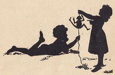 Frohe Kindheit / Schattenbild 03   Frohe Kindheit / Kinderbu…   Flickr Shadow Silhouette, Ex Libris, Jumping Jacks, World Best Photos, Mural Ideas, Illustrations, Tags, Book, Konstanz