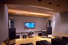 Alan May Listening Room & Home Theater, Dallas, Texas Acoustic Design, Room Interior, Interior Design, Floating Floor, Systems Engineering, Home Automation System, Audio Room, Theatre Design, Home Theater