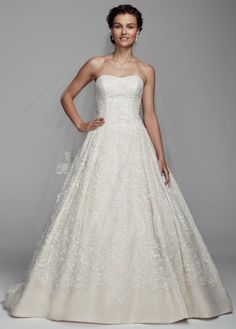 Organza Tulle Ball Gown with Sweetheart Neckline - David's Bridal