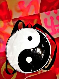 SWEET LORD O'MIGHTY! YIN YANG ROUND BACKPACK
