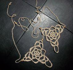 365 Crochet: Hippy Feet - Barefoot Sandal
