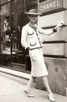 O tailleur de Chanel.