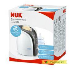 Scalda Pappa Thermo Ultra Rapid NUK, per scaldare velocemente latte e pappe in modo delicato ma molto rapido: solo 2 minuti! Si spegne automaticamente una volta raggiunta la temperatura. Adatto a biberon e vasetti. 49.50€