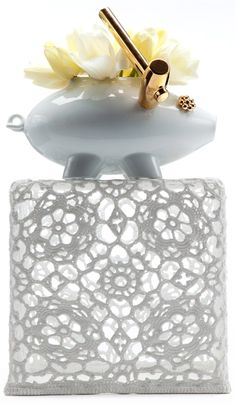 Crochet Table by Marcel Wanders 2001, produced by Moooi