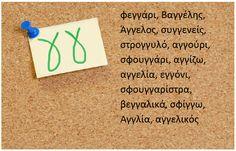 Η κυρία Σιντορέ και η μουσική ορθογραφία: Αχ… αυτά τα γκ και γγ… πότε διαλέγω το ένα και πότε το άλλο; School Lessons, Lessons For Kids, Learn Greek, Greek Alphabet, Greek Language, School Grades, Blog Page, How To Stay Motivated, First Grade