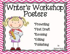 Writer's+Workshop+Poster+from+Stefanie+Bruski+on+TeachersNotebook.com+-++(14+pages)++-+Writer's+Workshop+Posters+include+5+stepsin+writer'+s+workshop+including+prewriting,+1stdraft,+revising,+editing,+and+publishing.+Great+to+display+on+writing+focus+wall.