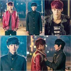 Vampire Flower - Jaehyung as Louis and Hyeongkon as Reika.