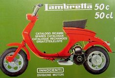 Lambretta Scooter, Tricycle, Scooters, Motorbikes, Interesting Stuff, Catalog, Clever, Motorcycles, Concept