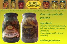 Broccolo verde alla Melfitana in olio di semi   Delizie Contadine
