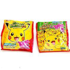 Daisuki! Pikachu Gummy Gominolas de Pikachu que presentan una variedad de expresiones de Pikachu! También incluye colas y huellas de Pikachu intenta encontrarlas!  Desde la Samurai!  www.boxfromjapan.com  #BFJDiciembre #BoxFromJapan #BFJ #Pikachu