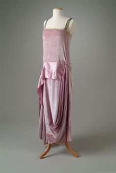 Dinner Dress Callot Soeurs, 1922 The Meadow Brook Hall Historic Costume Collection