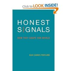 Honest Signals: How They Shape Our World (Bradford Books): Alex Pentland: 9780262515122: Amazon.com: Books