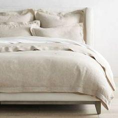 King 3pc Flax Linen Duvet Set … curated on LTK Neutral Bedding, Neutral Bedrooms, Luxury Duvet Covers, Duvet Covers King, Ivory Bedding, Linen Duvet, White Bedding