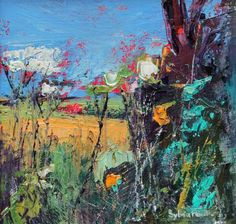 Through the Hedgerow   Sylvia Paul