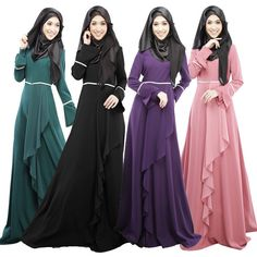 a9687d108b Aliexpress.com   Buy Plus Size Maxi Dress Muslim abaya jilbab islamic  clothing for women 2015 new Muslim Women Dresses Free Shipping from  Reliable islamic ...