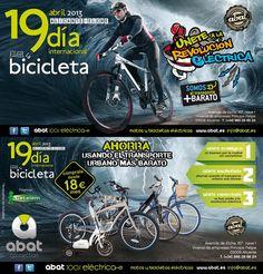 """Flyer 19x10 """"Día Internacional de la Bici"""""""