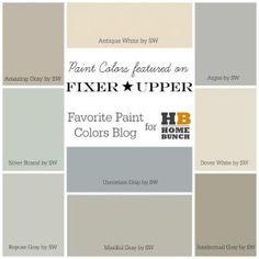 Trendy Ideas For Kitchen Paint Colors Fixer Upper Joanna Gaines Fixer Upper Hgtv, Fixer Upper Kitchen, Interior Paint Colors, Paint Colors For Home, Interior Design, Fixer Upper Paint Colors, Paint Colours, Hgtv Paint Colors, Interior Painting