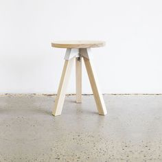 This Is A Complete Self Assemble Stool Kit.Designer   Henry Wilson Made In    Sydney, Australia Mate.
