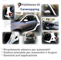 Publiemme 84  Car wrapping a Roma, specialisti in pellicole adesive per auto. Decorazione di automobili e automezzi aziendali.