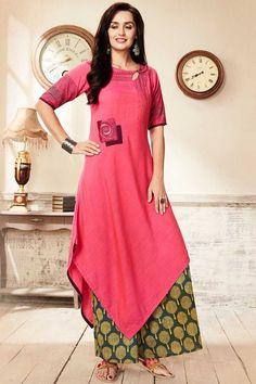 Buy Peach Resham Embroidered Silk Designer Salwar Online Buy Moss, Salwar Kameez Online, Embroidered Silk, Peach, Short Sleeve Dresses, Kurtis, Sequins, Clothes For Women, Lady
