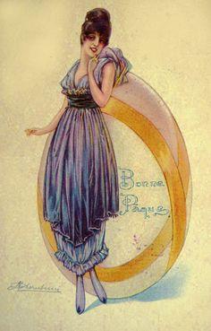 Cherubini - Easter postcards, 1910