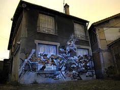 Graffitis abandonnés | Mediapart