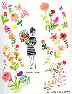 Colorful works by Jennifer Orkin Lewis, posted on the blog:  http://www.artisticmoods.com/jennifer-orkin-lewis/