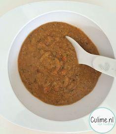 Babyhapje: pasta met gehakt en groentes (7 maanden) – Culime.nl