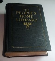 Antique 1920 The People's Home Library R.C. Barnum, The R.C. Barnum Co/ Imperial…