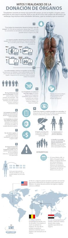 Mitos y realidades de la donación de órganos.