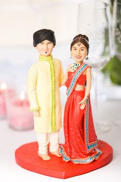 Indian Wedding Cakes | Indian Wedding Cake Topper (Full front view) | Flickr - Photo Sharing!